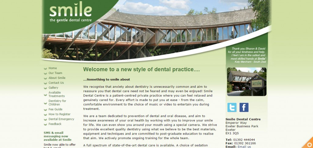 Smile Dental Centre in Exeter, Devon