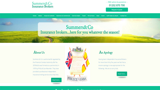 Summers & Co Insurance Dorset