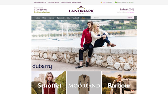 Landmark Stores Clothing in Wiltshire