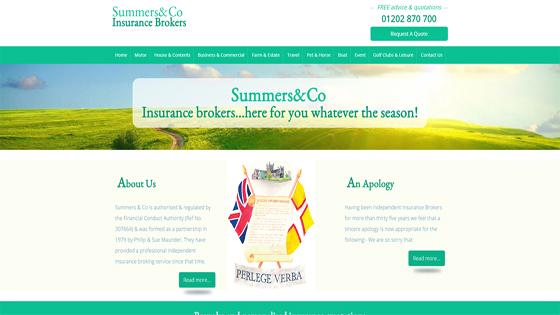 Summers & Co Insurance Dorset