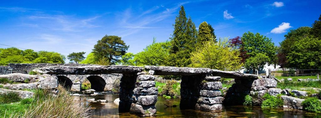 Devon - photo of Dartmoor bridge