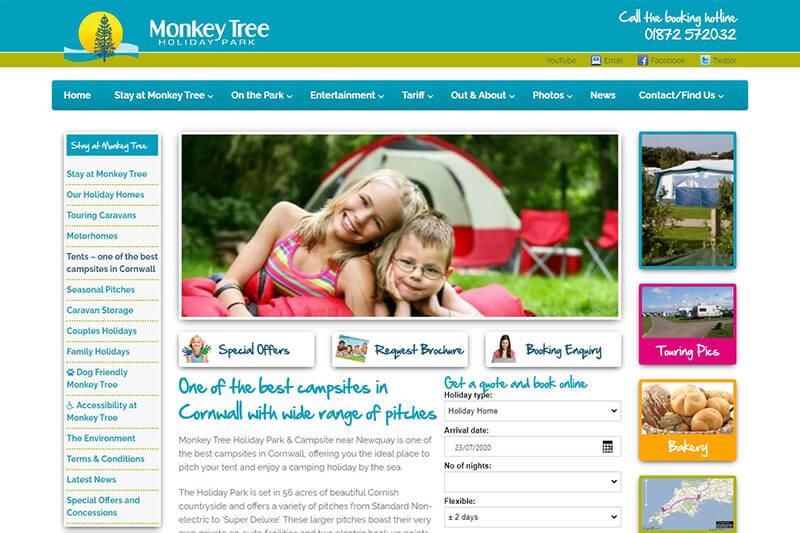 Monkey Tree Holiday Park Newquay