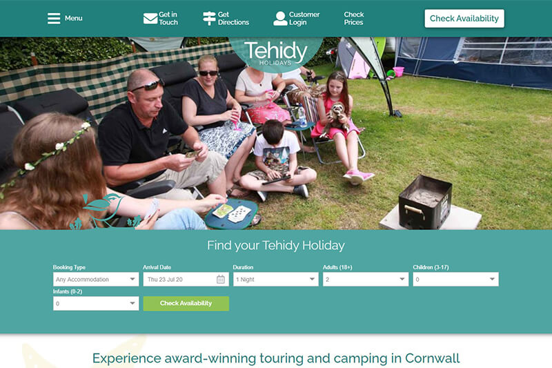 Tehidy Holiday Park Cornwall