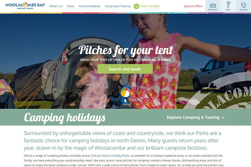 Woolacombe Bay Holiday Parks North Devon